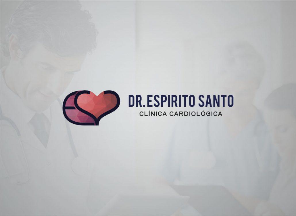 criacao-logomarca-area-de-saude-medicos-clinicas-odontologia-medicina-geral-dr-espirito-santo-cardio